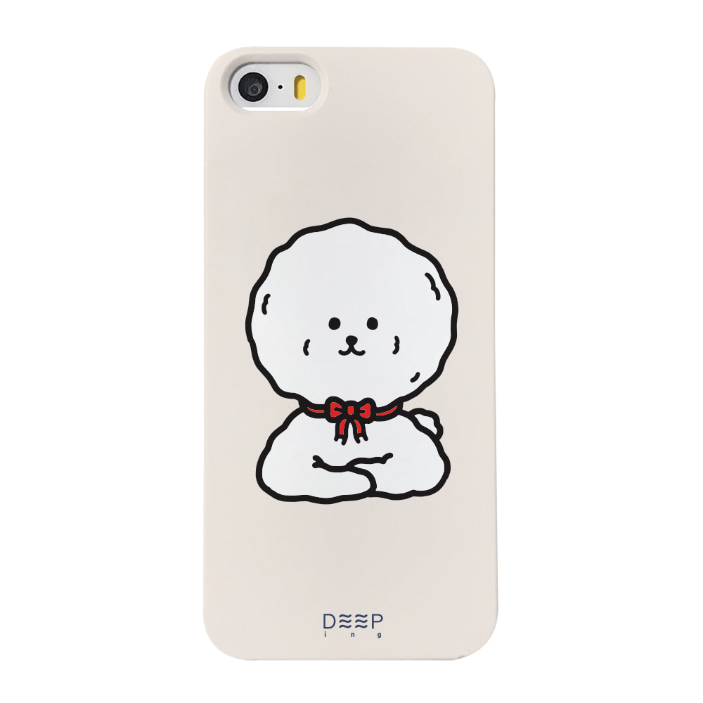 BICHON FACE - RED(BEIGE)