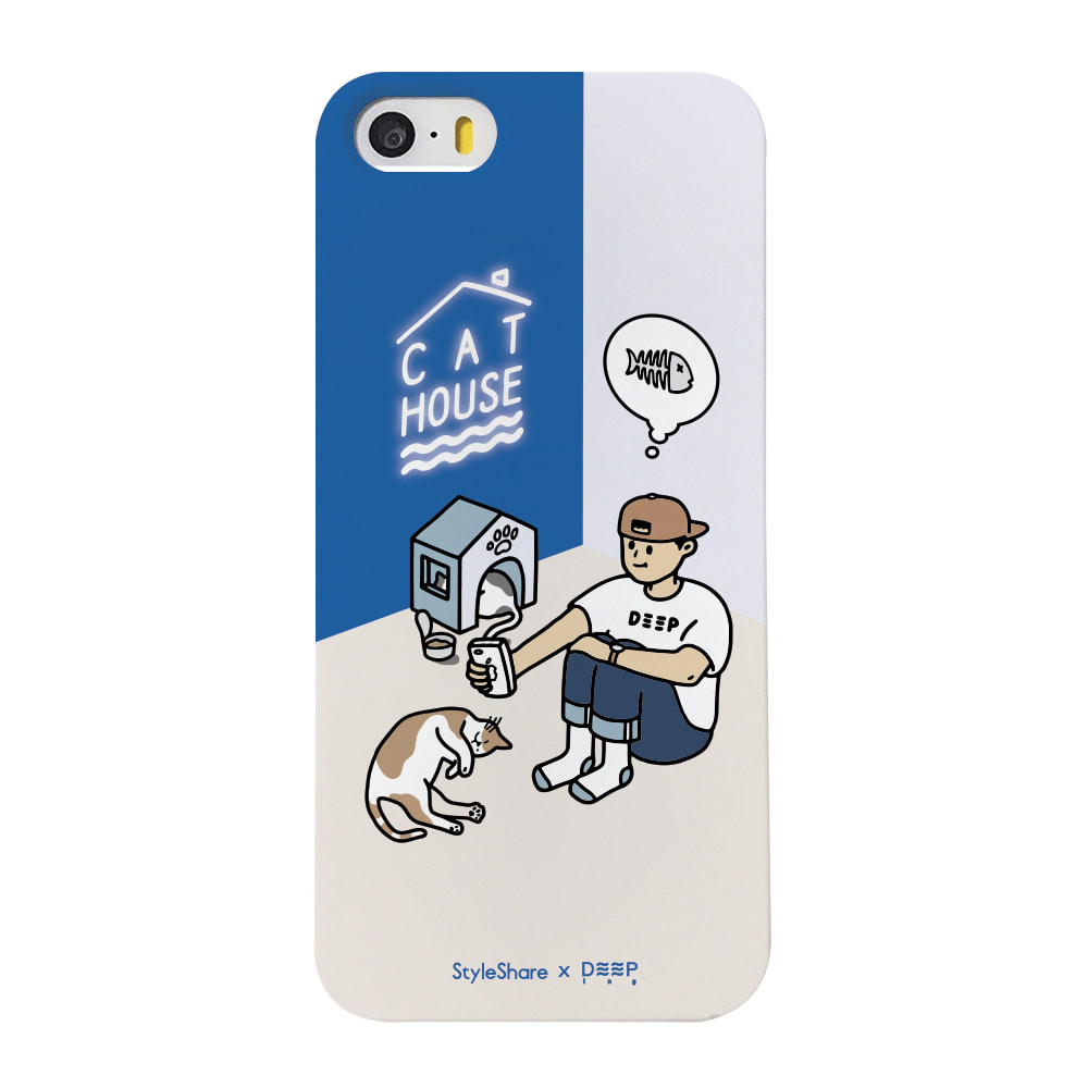 [Styleshare × Deepingcase] Cat house - boy