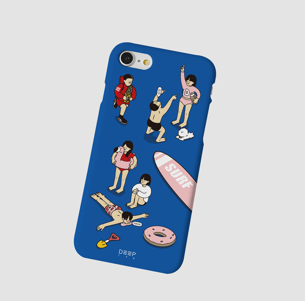 Surfing case (blue)